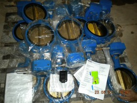Butterfly Valve (Lever)